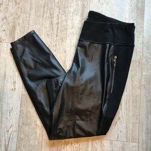 Old Navy Faux Leather Street Leggings